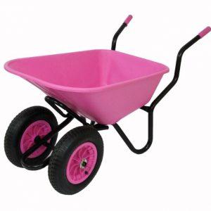 Pink Wheelbarrows