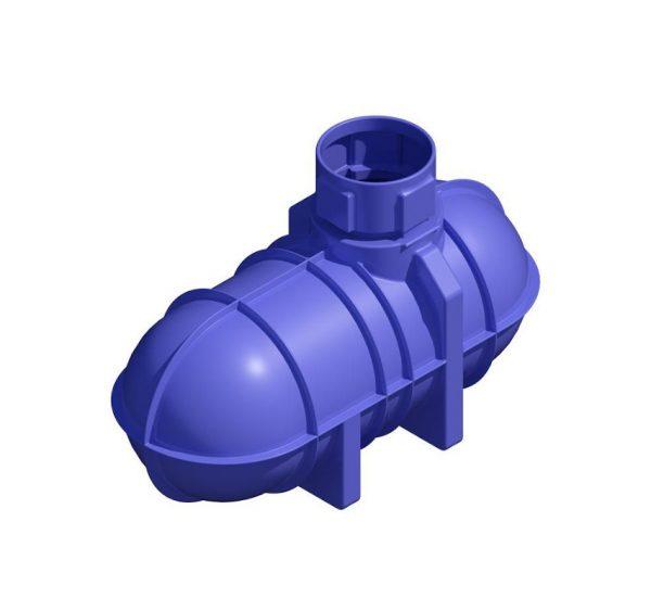Low Profile Rainwater Harvesting Tank