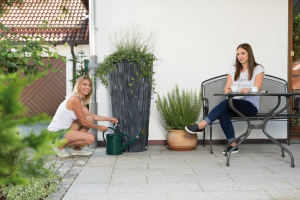 Alana Water Butt Planter Slate