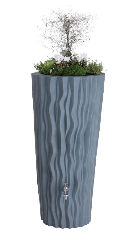 Alana Water Butt Planter grey